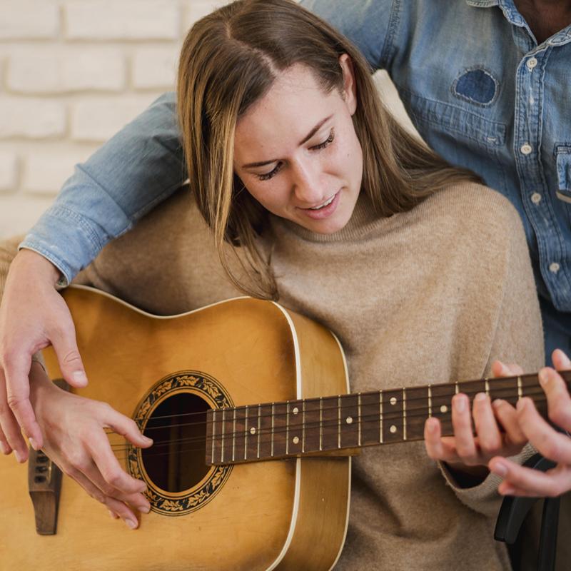 Μαθήματα κιθάρας για αρχάριους