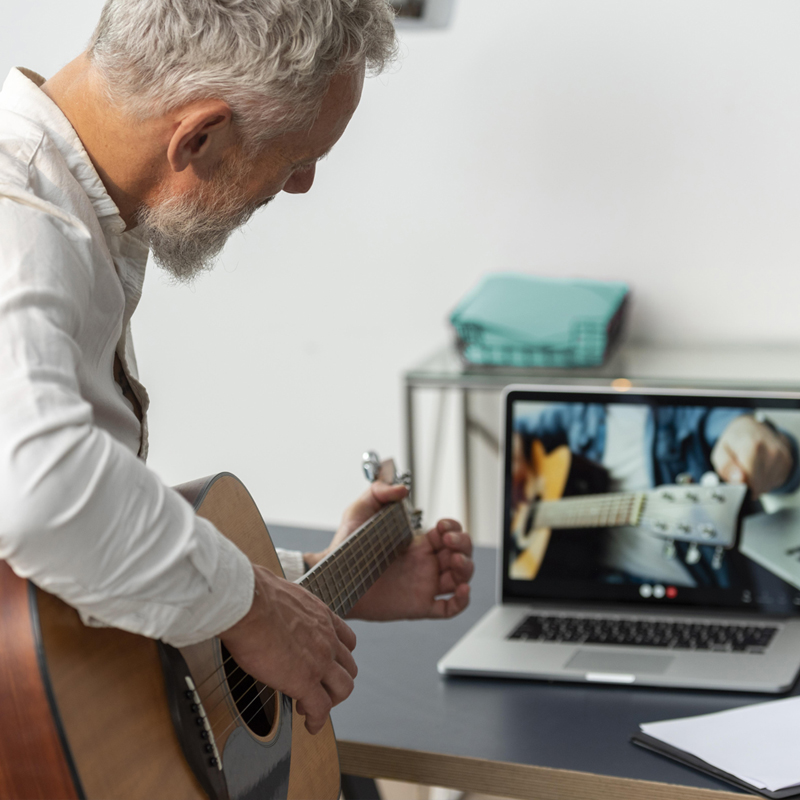 Μαθήματα κιθάρας online