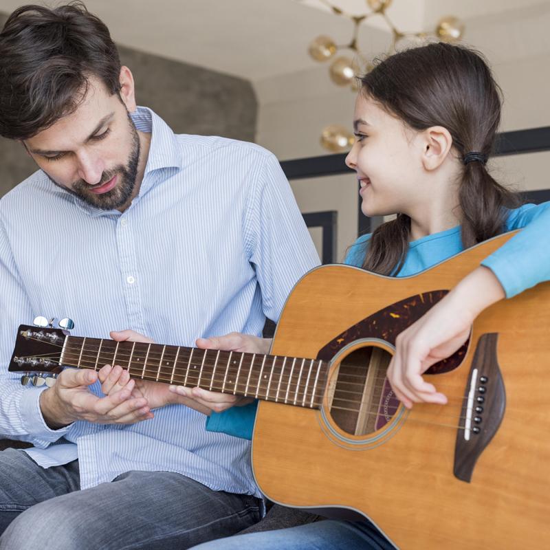 Μαθήματα κιθάρας για παιδιά